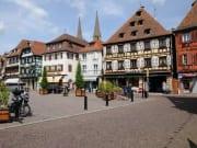 Town of Obernai in Alsace Region