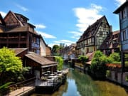 France, Colmar, Alsace Wine Route from Strasbourg