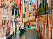Narrow canals, Venice