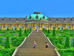 Europe, Germany, Potsdam, Sanssouci Palace