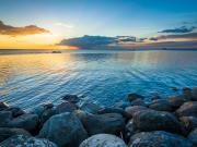 philippines manila bay at sunset