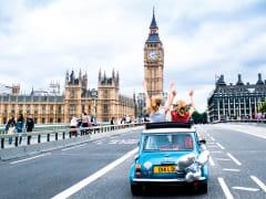 Houses of Parliament_London Eye_Mini Cooper