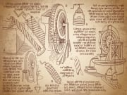 Leonardo da Vinci_Sketches_shutterstock_787030939