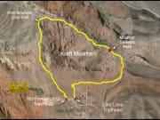 Aerial View Kraft Mountain Loop