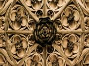 UK_London_Hampton Court Palace Ceiling