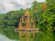 Laguna Villa Escudero Floating Bamboo Chapel