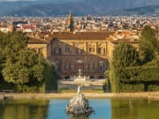 Italy-Florence_Boboli Gardens_Fountain of Neptune