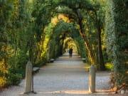 Italy-Florence_Boboli Gardens_Acrh Path