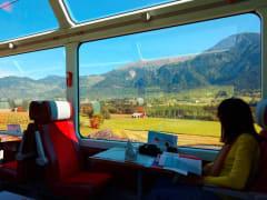 Switzerland Glacier Express Train Route