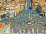 Italy_Rome_Vatican Museums St Peters Basilica