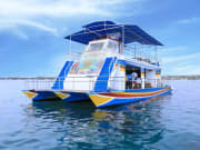 pontoon marine walk nusa lembongan indonesia
