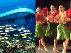 Atlantis Submarines Kona & Royal Kona Resort Luau Combo