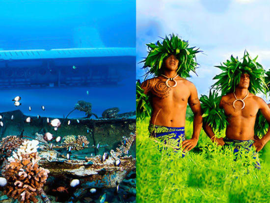 Atlantis Submarines Kona & Island Breeze Luau Combo