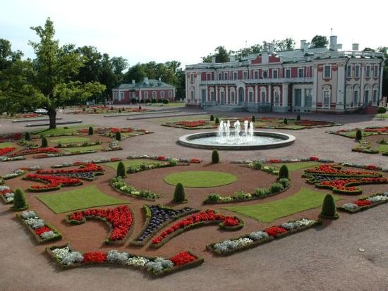 Tallinn, Kadriorg Palace Garden