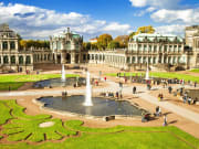 Germany_Dresden_Zwinger Palace Courtyard