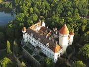 Czech Republic_Prague_Konopiste Chateau Aerial View