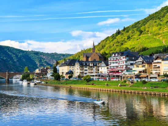 Cochem City, Moselle River, Germany