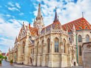 Vienna Austria St Matthias Church