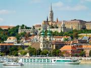 Vienna Austria Budapest cityscape
