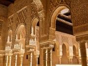 Spain, Granada, Alhambra, Fountain of Lions