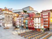 Portugal_Porto_Ribeira Square_shutterstock_1229816263