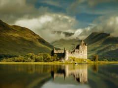 Scotland_Loch Awe_Kilchurn Castle
