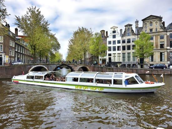 Netherlands, Amsterdam, Hop on Hop off Boat