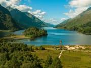 Scotland_Loch Schiel_Glenfinnan Monument