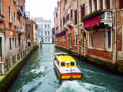 Italy, Venice, Water Taxi