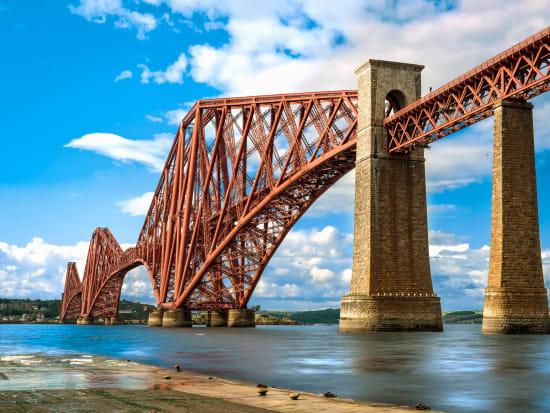 Scotland, Edinburgh, The Forth Rail Bridge