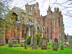 Scotland_Melrose_Roxburghshire_Melrose Abbey