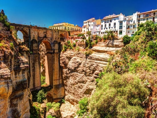 Ronda Full Day Tour from Seville with Wine Tasting and Bullfighting Ring  Visit Instant Confirmation