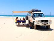 4wd beach safari north stradbroke island