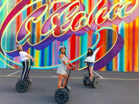 セグウェイ/エアウィール (アクティビティ) | ハワイ(オアフ島(ホノルル))の観光・オプショナルツアー専門 VELTRA(ベルトラ)