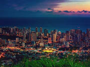 Hawaii_Oahu_Honolulu_ city_and_Waikiki_Beach _at_Tantalus_ lookout_night_shutterstock_1210754746