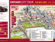 Chicago City Tour Map