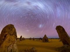 Pinnacle Desert Sunset and Night-time Stargazing