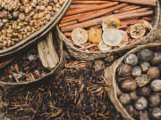 spices and herbs used in djamoe making class