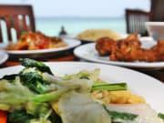 コーラル島昼食