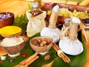 herbs and spices for balinese jamu drink