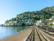 USA_San Francisco_Sausalito Seaside Town Hill