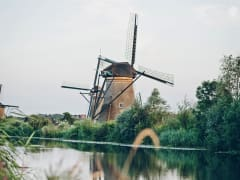 Netherlands, Kinderdijk, unesco heritage site