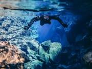 Silfra, snorkelling