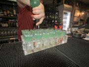 singapore pub crawl bartender mixing drinks