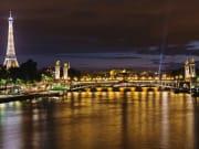 France, Paris Eiffel Tower, Seine River