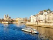 France, Paris, Seine River, cruise