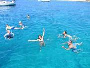 Moni Island, swim