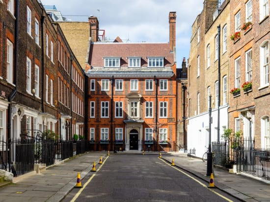 Europe_Central London_Typical Street