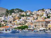 Symi Harbor, Greece