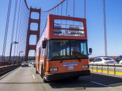 USA_San Francisco_Hop On Hop Off City Tour Bus
